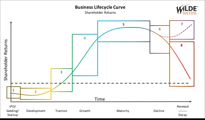 Business lifecycle Curve