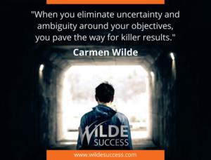 Success Secret - Eliminate uncertainty